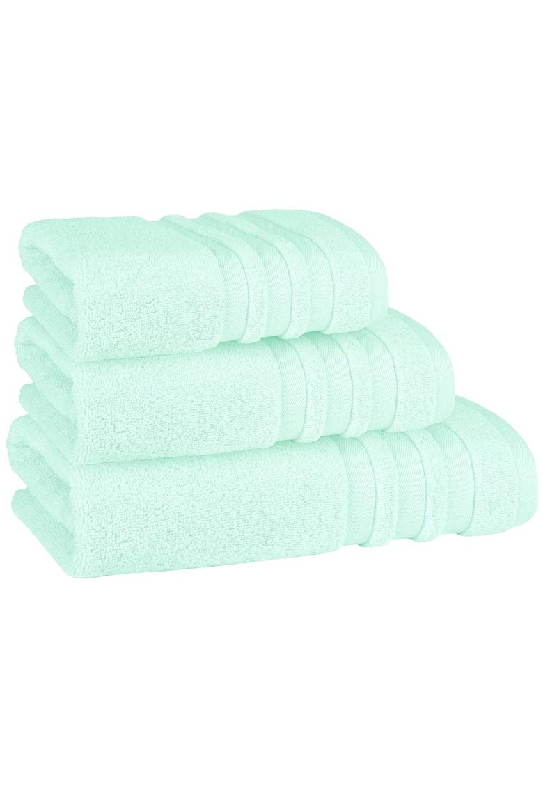 Set 3 prosoape Pastel Zero Twist 100% bumbac nerasucit - 550 GSM - 30x50 / 50x90 / 70x140 cm fashiondays.ro