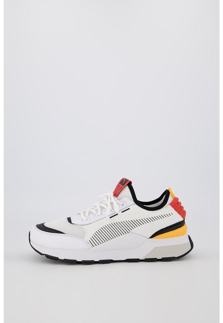 Pantofi sport slip-on cu insertii din piele RS-0 Tracks