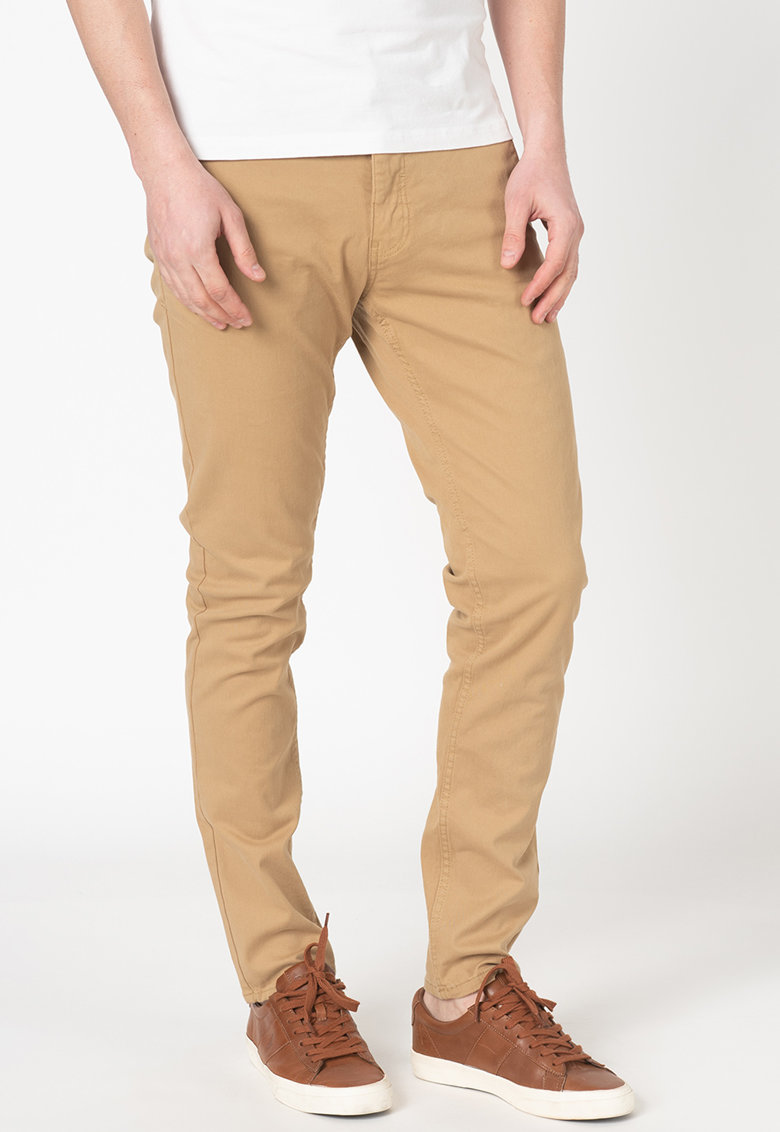 Pantaloni chino elastici imagine