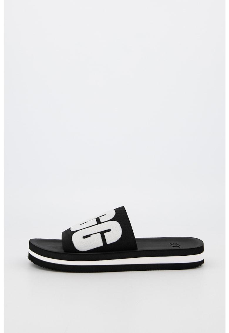 Papuci cu model grafic logo Zuma