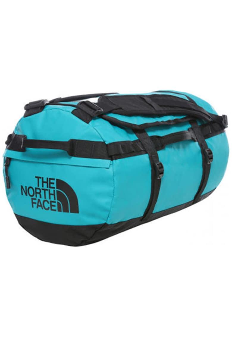 Geanta sport Base Camp S Turquoise/Black OS 50L imagine