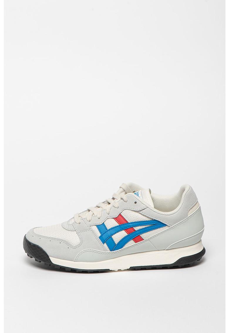 Pantofi sport unisex de piele si material textil Horizonia