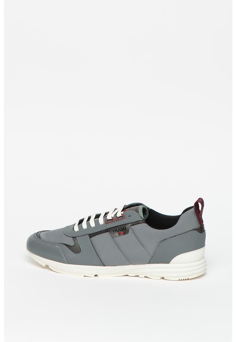 Pantofi sport cu insertii de piele Hybrid imagine