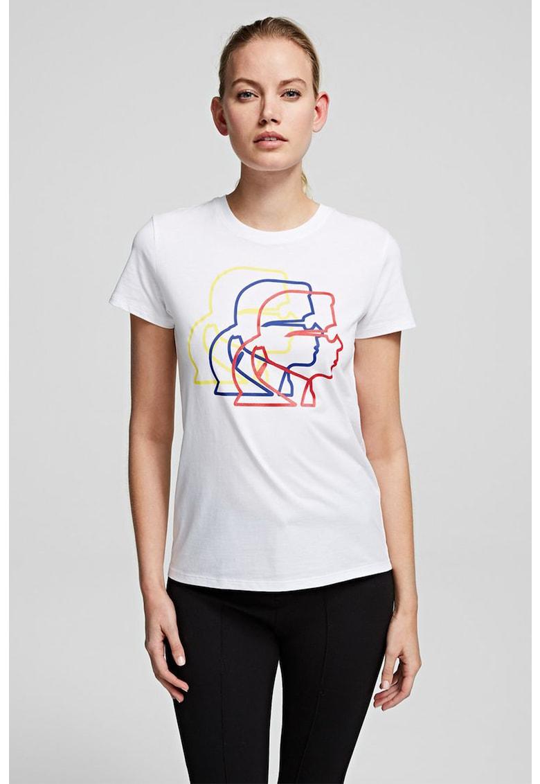 Tricou cu imprimeu grafic