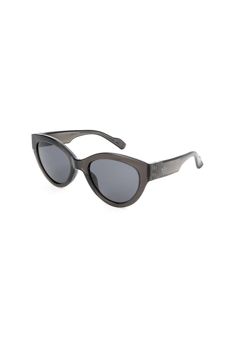 Ochelari de soare cat-eye cu lentile uni