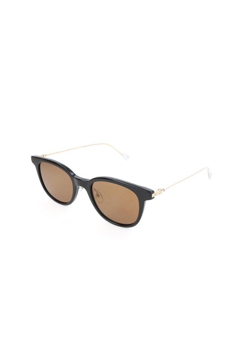 Ochelari de soare unisex cu brate metalice imagine
