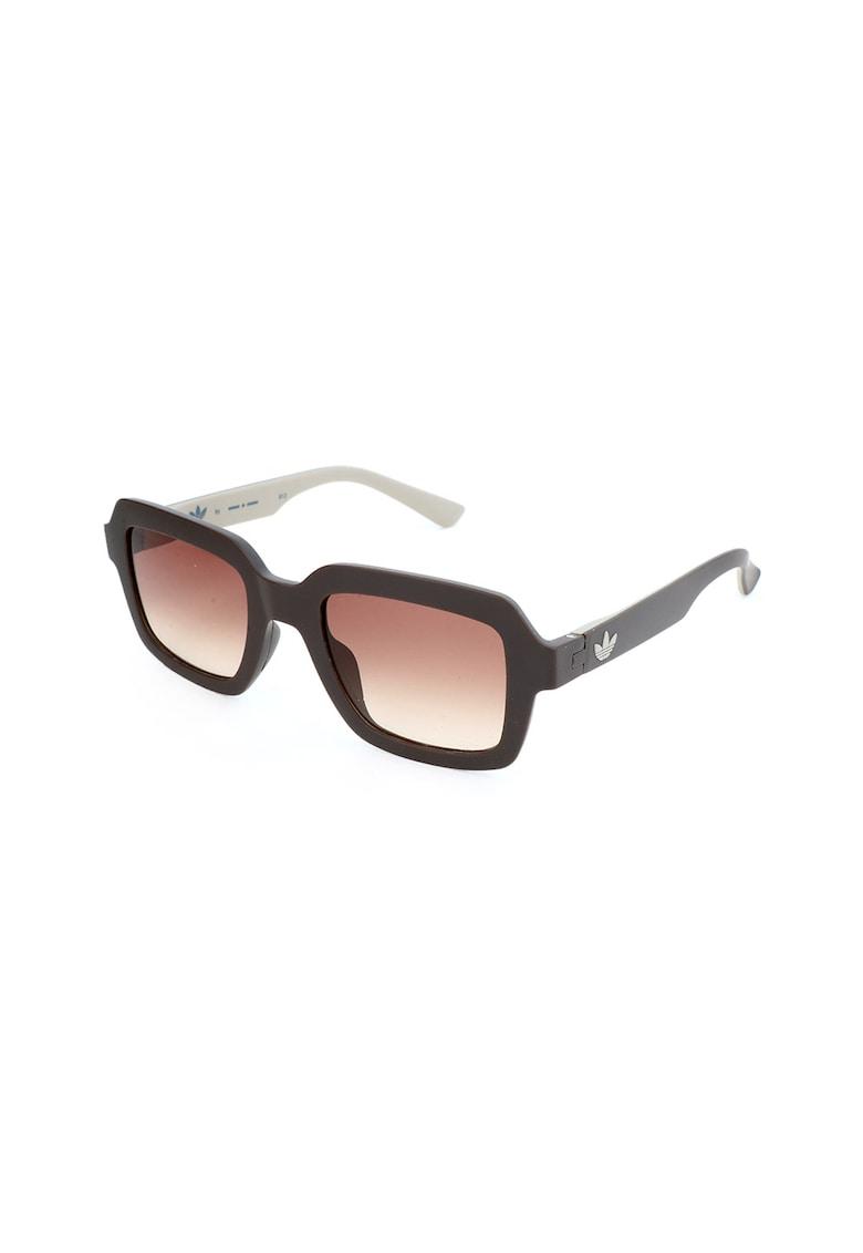 Ochelari de soare patrati unisex - cu lentile in degrade imagine fashiondays.ro