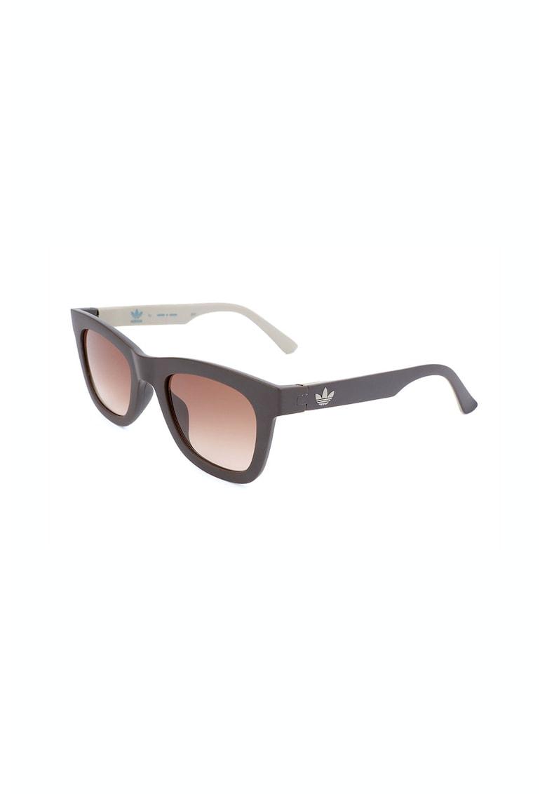 Ochelari de soare patrati unisex cu lentile in degrade poza fashiondays