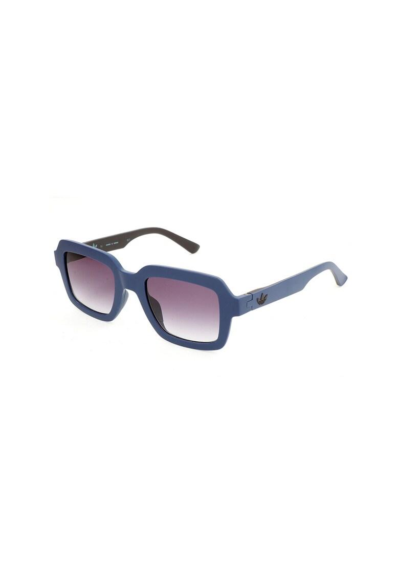 Ochelari de soare dreptunghiulari unisex cu lentile in degrade imagine fashiondays.ro