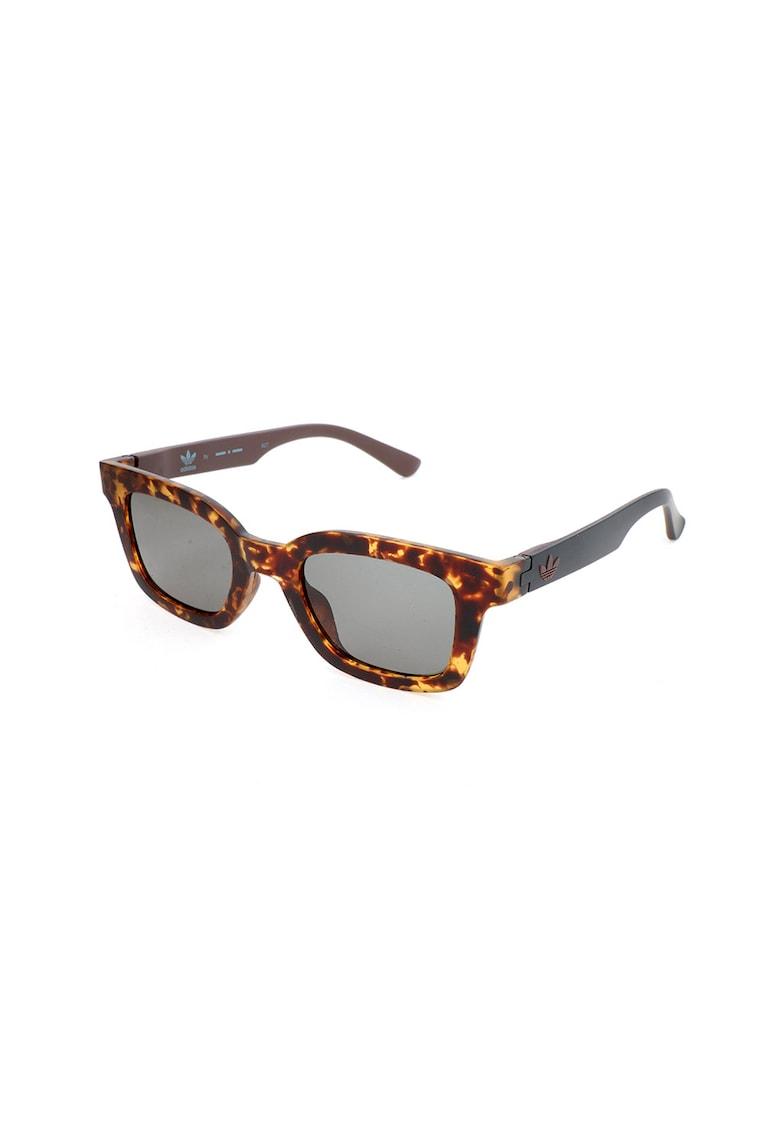 Ochelari de soare unisex cu rama tortoise imagine fashiondays.ro adidas Originals