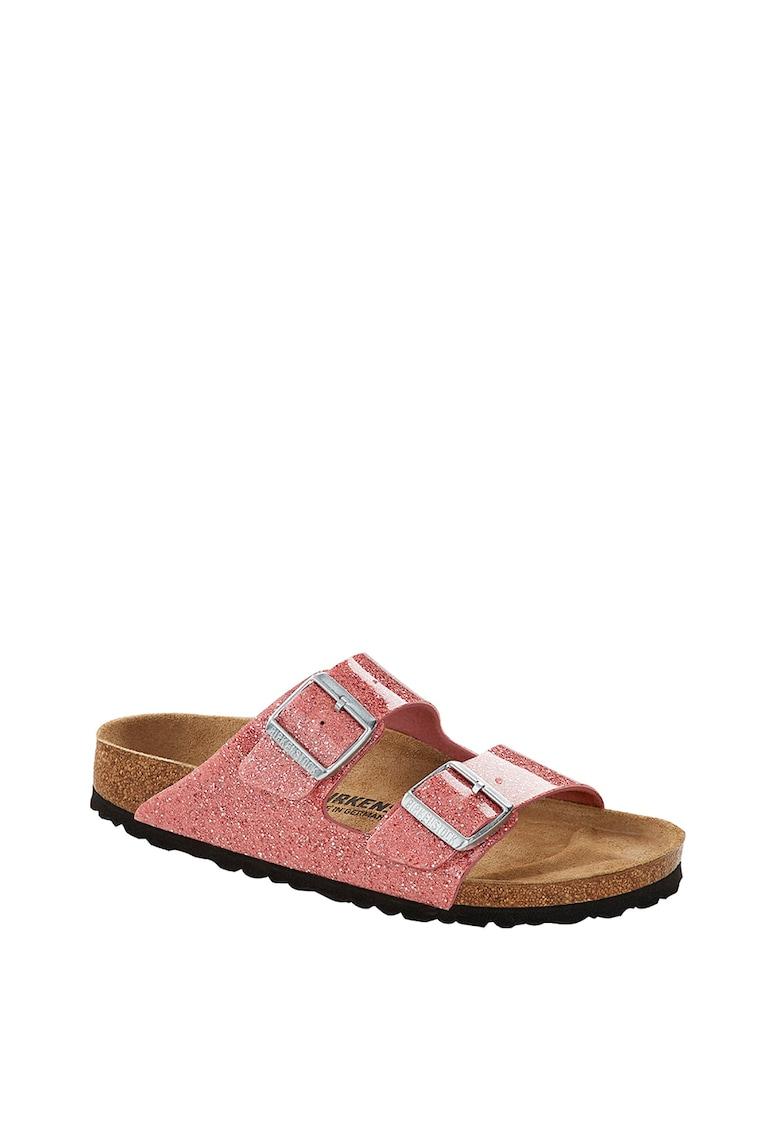 Papuci cu catarame metalice Arizona