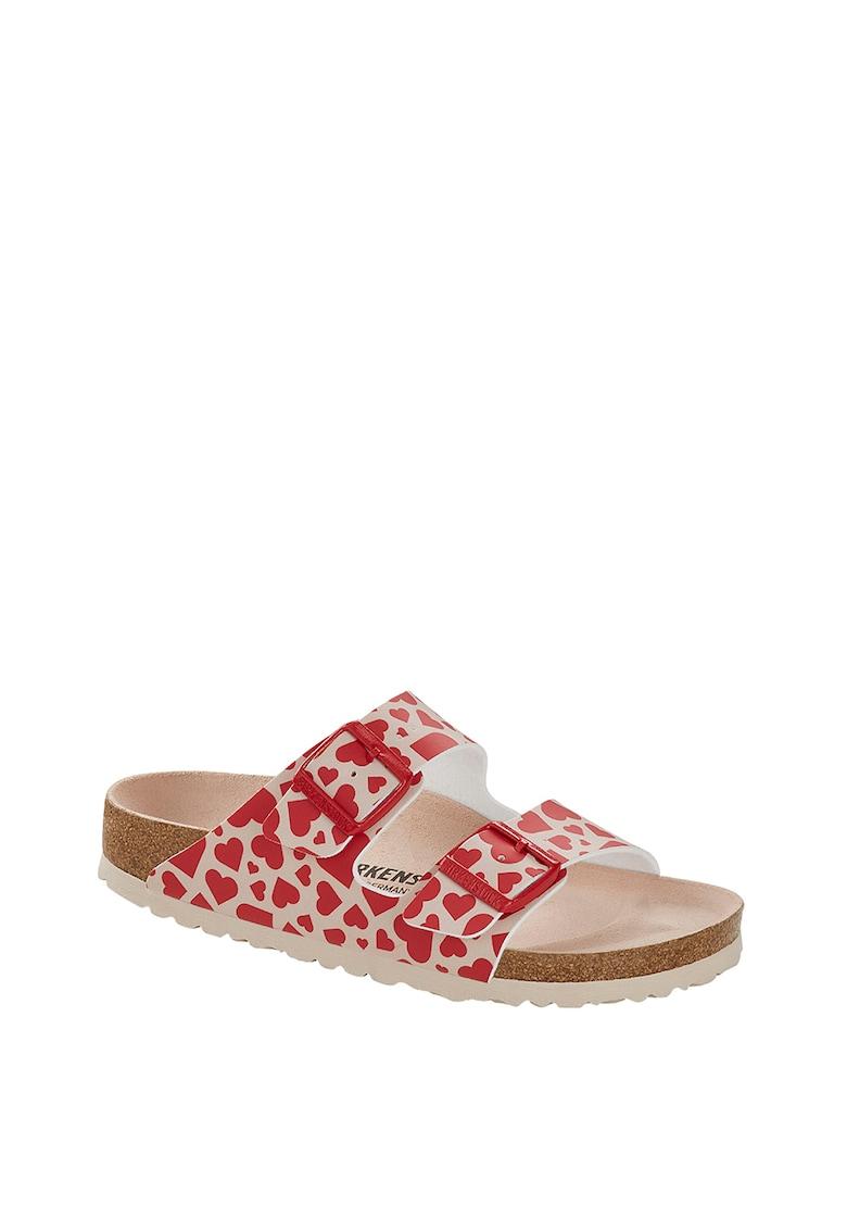 Papuci cu imprimeu cu inimi Arizona imagine