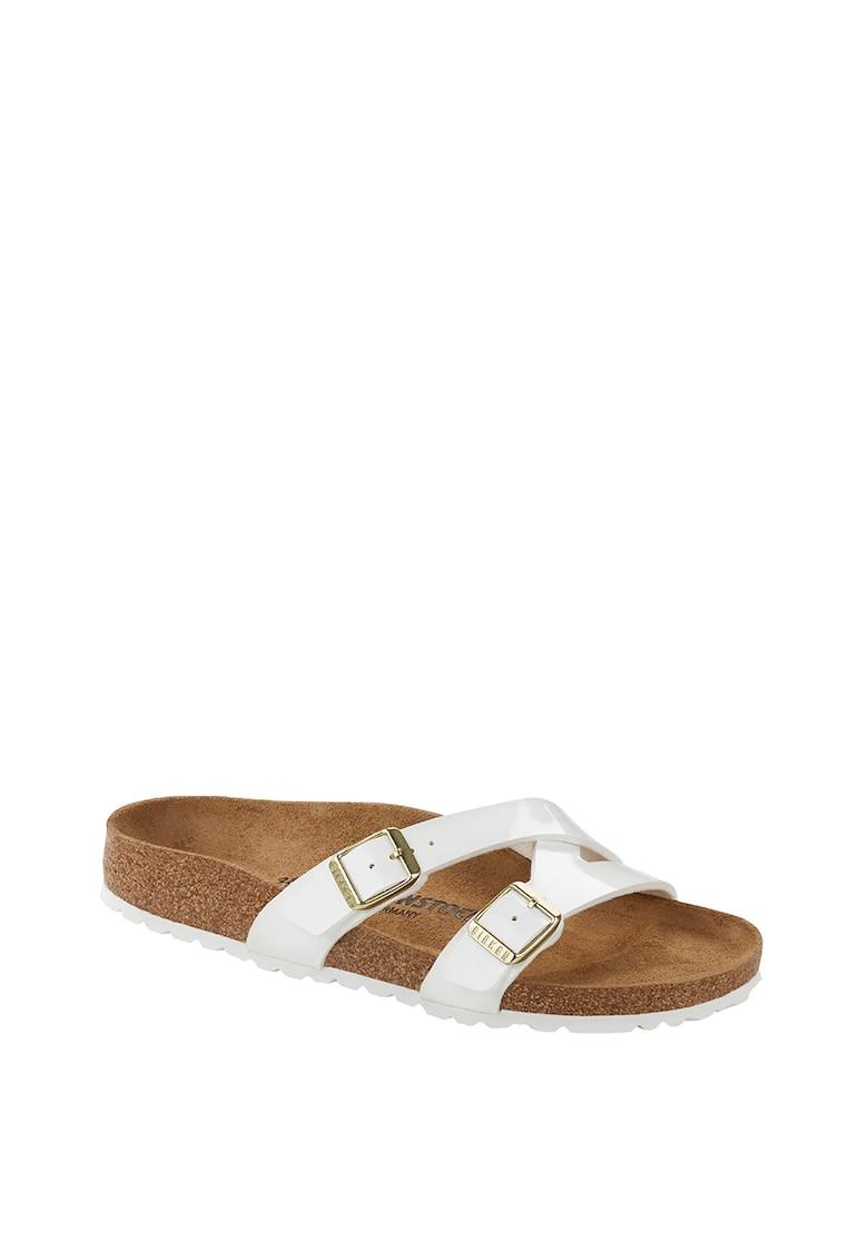 Papuci de piele ecologica Yao Balance