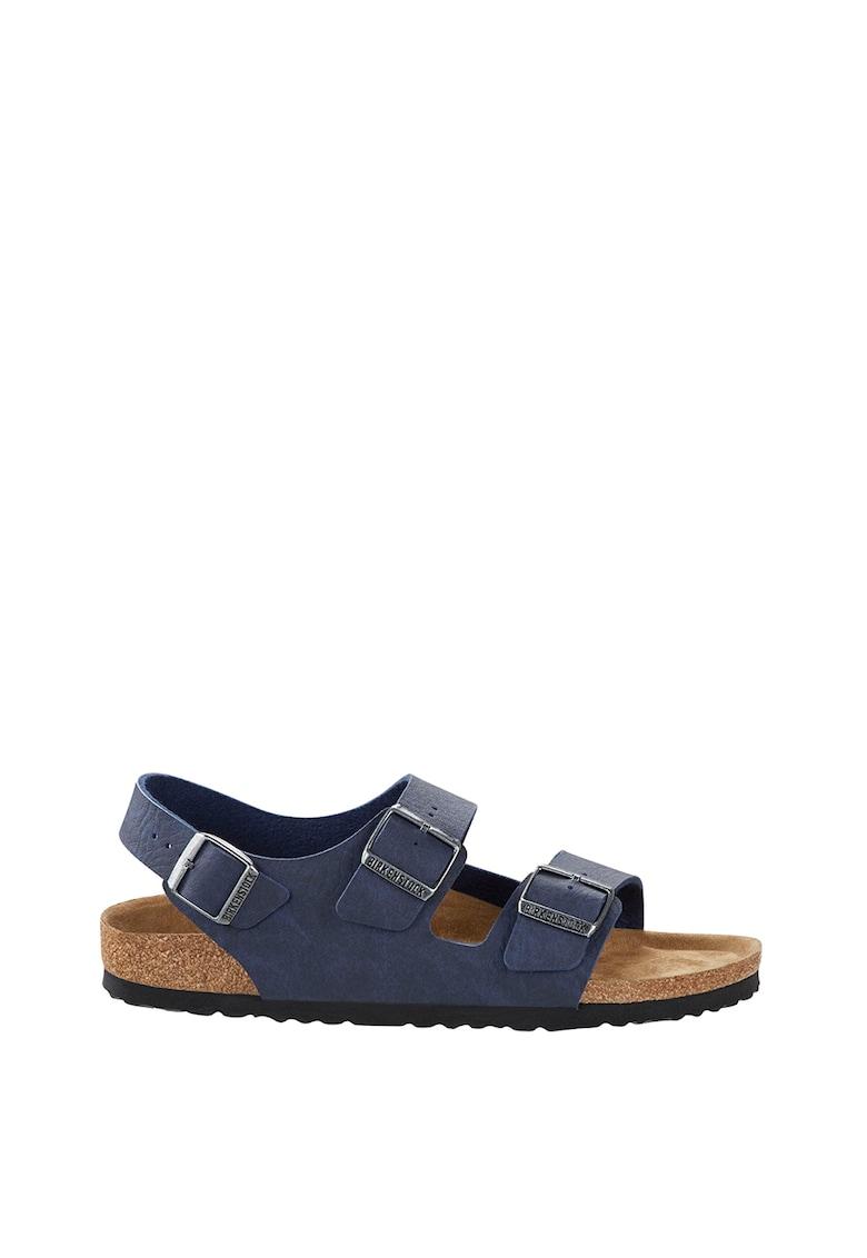 Sandale slingback de piele ecologica Milano