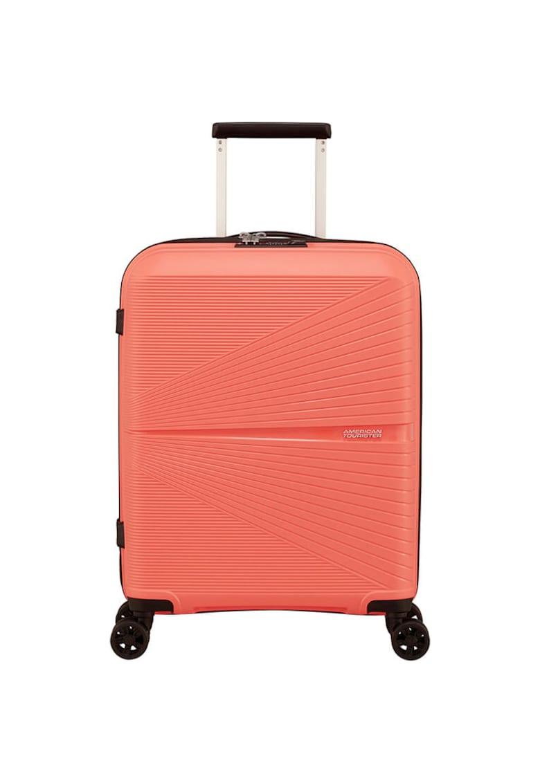 Troller Airconic Spinner - TSA - Living Coral - 55x40x20 cm