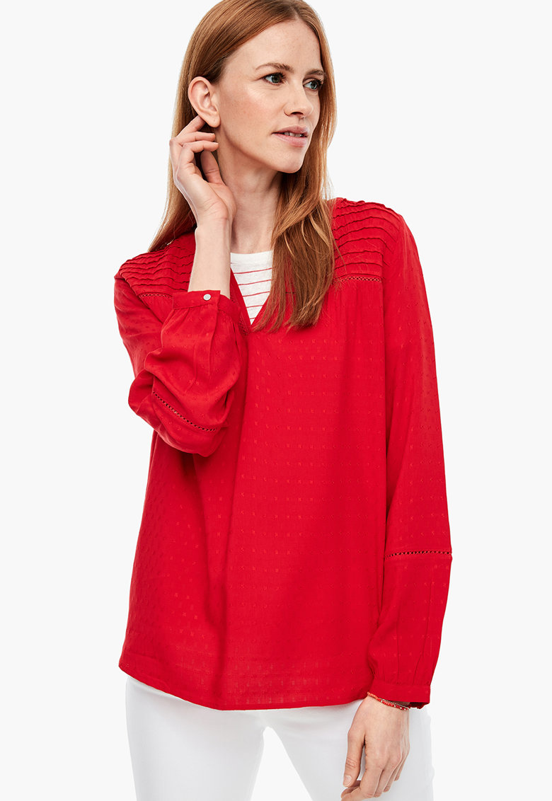 Bluza cu maneci lungi s.Oliver fashiondays.ro