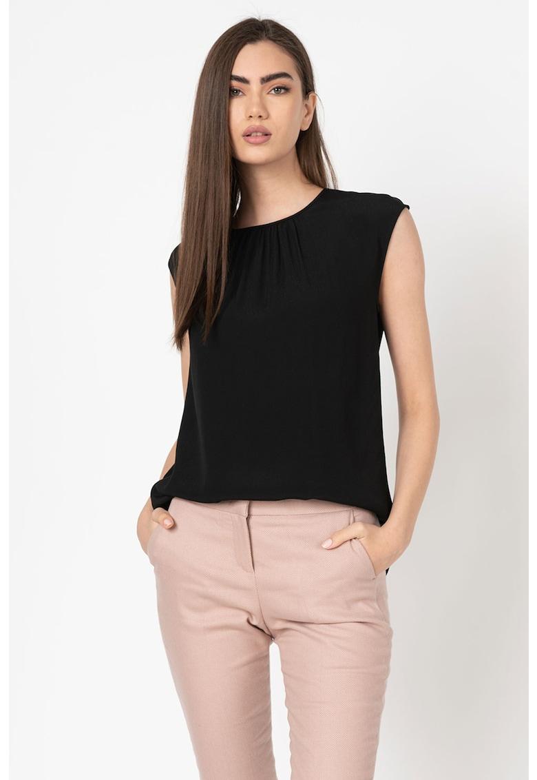 Bluza fara maneci - cu decupaj pe partea din spate imagine fashiondays.ro Stefanel