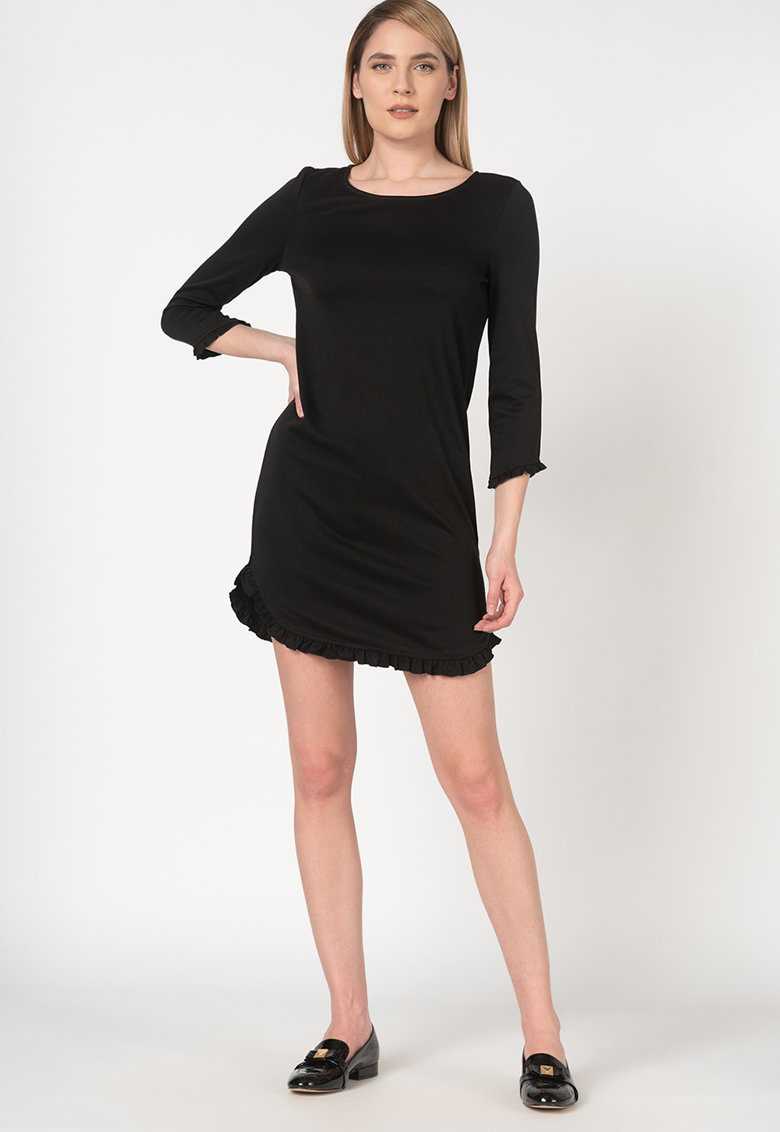 Rochie mini cu garnituri cu volane Tinny fashiondays.ro