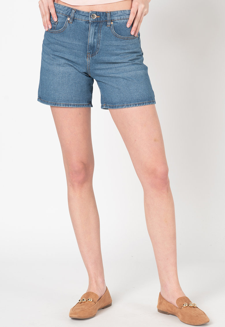 Pantaloni scurti din denim Phine imagine fashiondays.ro