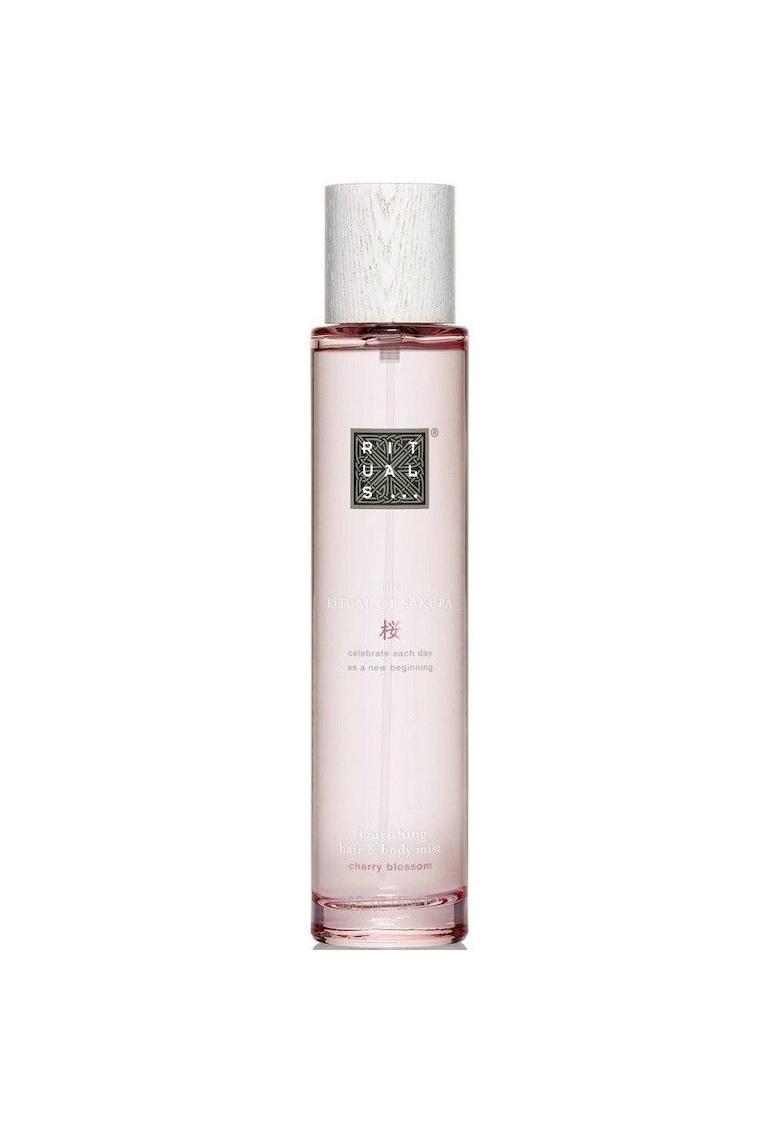 Parfum de par si corp The Ritual of Sakura Hair & Body Mist flourishing - 50 ml