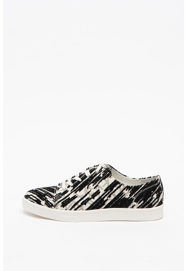 Pantofi sport din piele ecologica - cu imprimeu Imilia