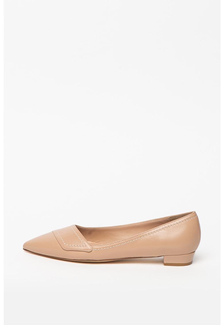 Pantofi de piele cu varf ascutit Polly