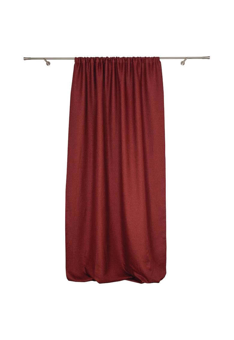 Perdea / draperie cu inele Butler  140x245 cm - bordeaux