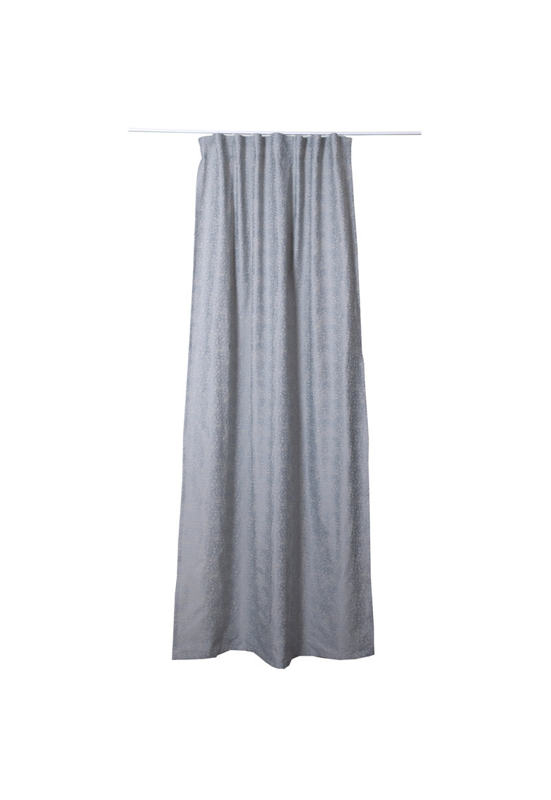 Perdea / draperie cu rejansa Marciano 140x260 cm - bleu imagine fashiondays.ro