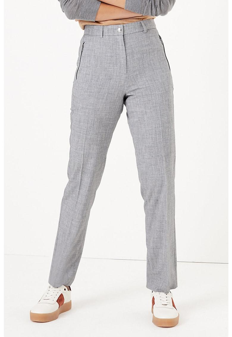 Pantaloni eleganti cu talie inalta imagine