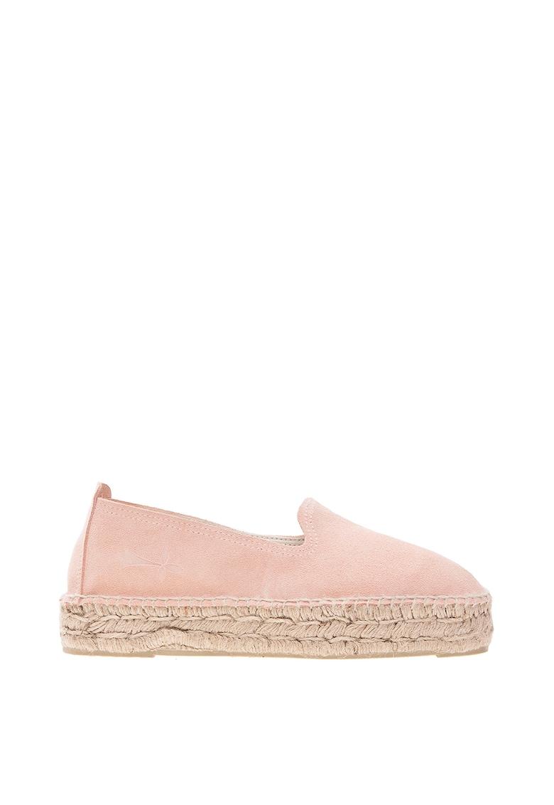 Pantofi loafer de piele intoarsa poza fashiondays