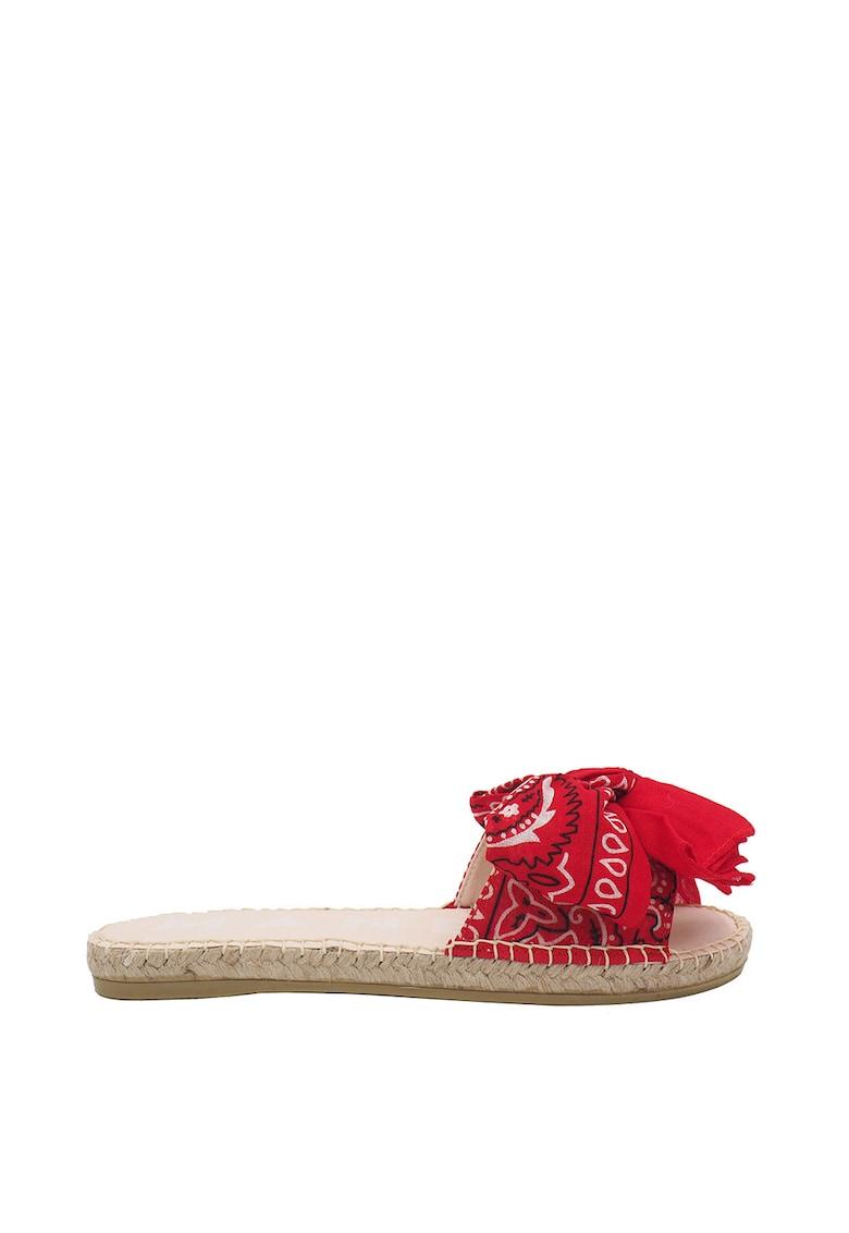 Papuci tip espadrile cu funda