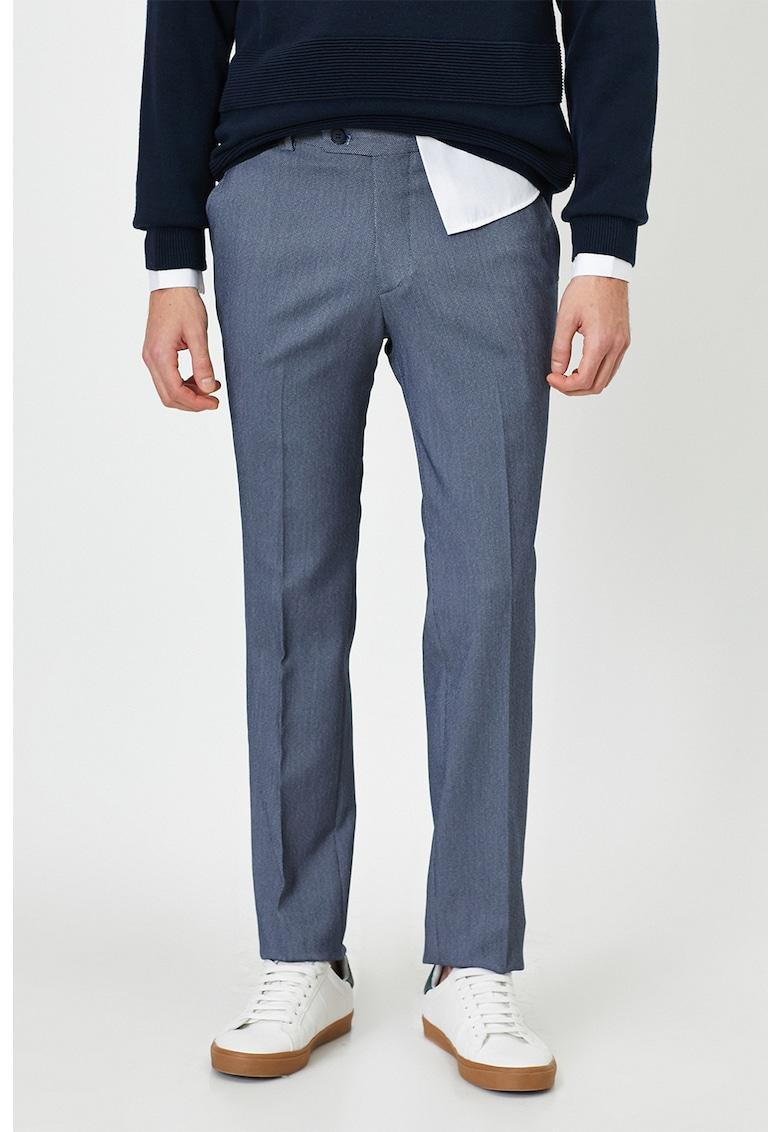 Pantaloni eleganti cu buzunare oblice imagine