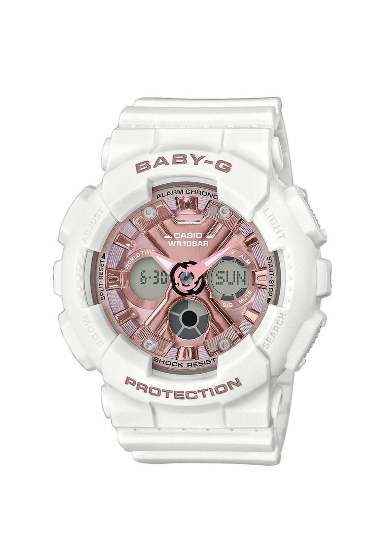 Casio Ceas de dama  Baby-G - 43mm - 10ATM - Alb