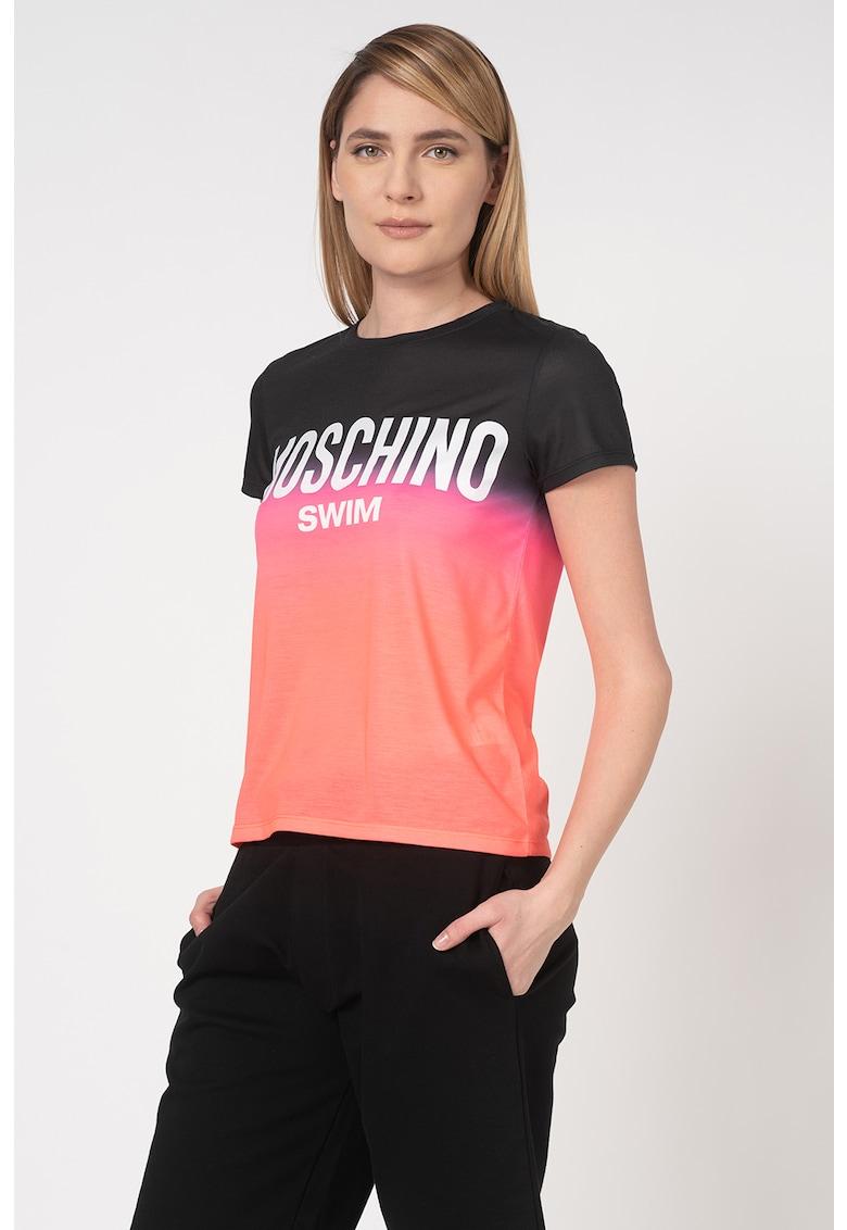 Tricou de plaja - cu model logo