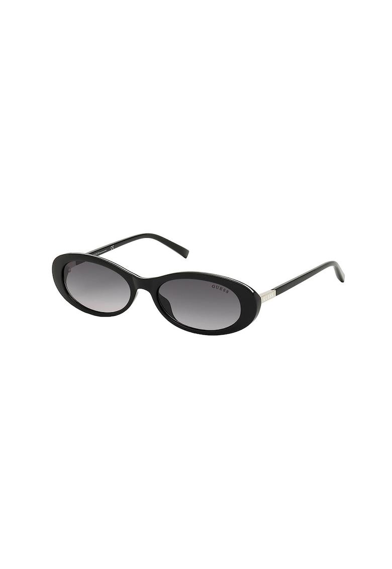 Ochelari de soare ovali cu lentile in degrade