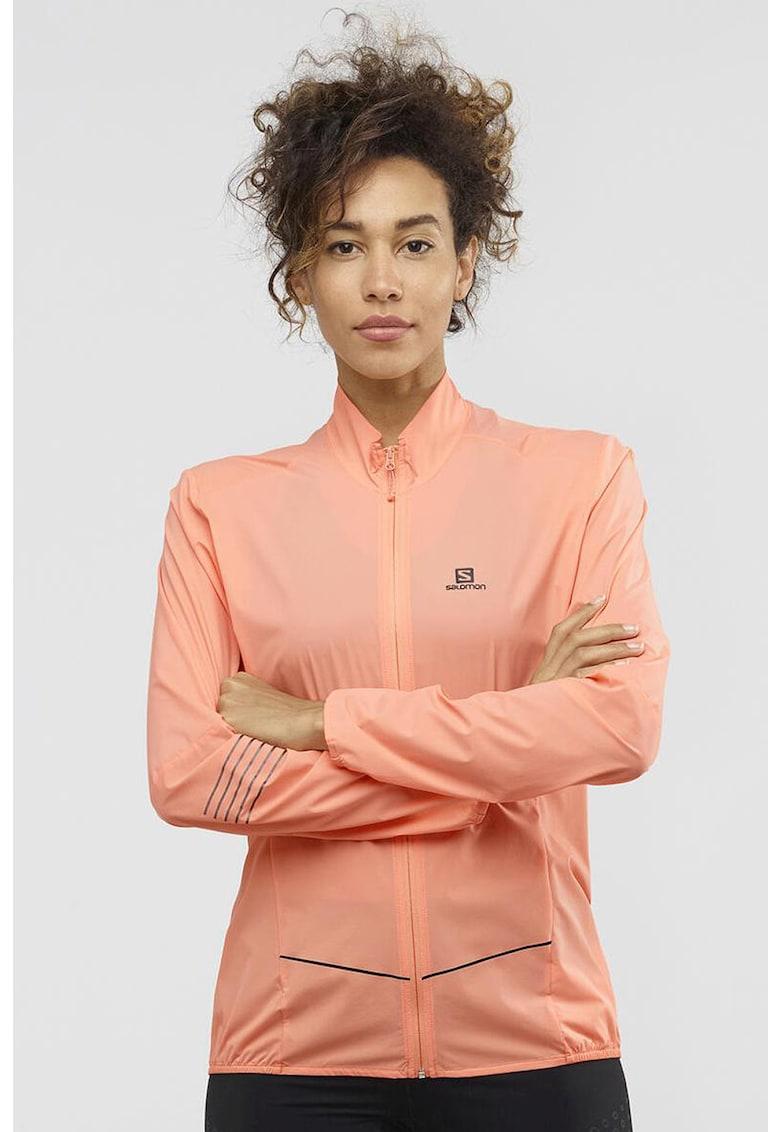 Jacheta cu guler mediu - pentru alergare Sense imagine promotie