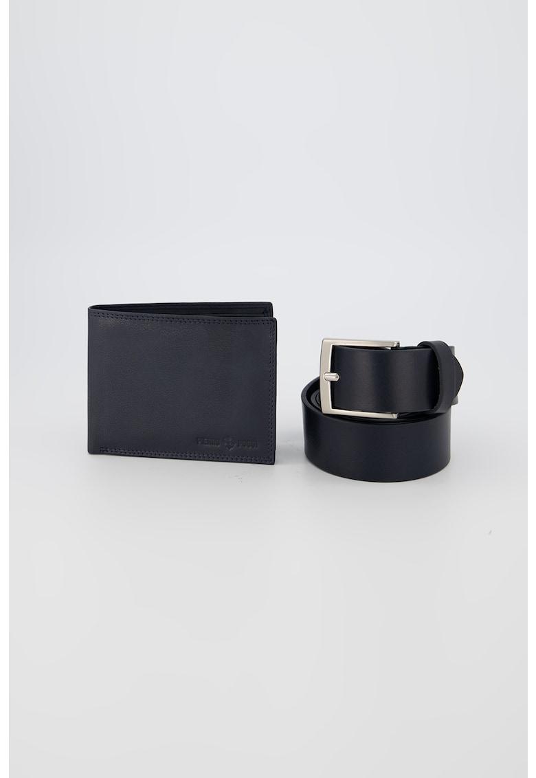 Set de portofel si curea de piele imagine promotie
