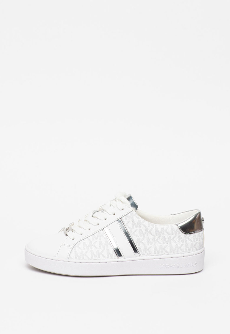 Pantofi sport cu garnituri de piele ecologica Irving 1