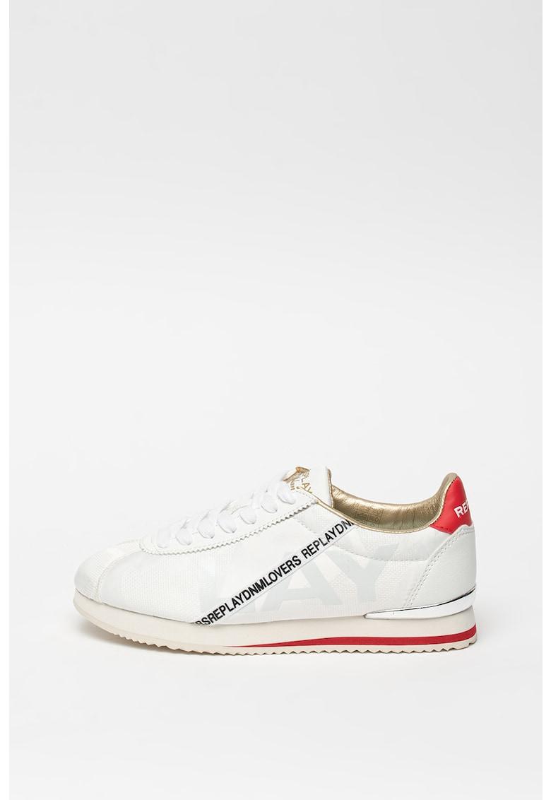 Pantofi sport cu garnituri de piele ecologica Lawen