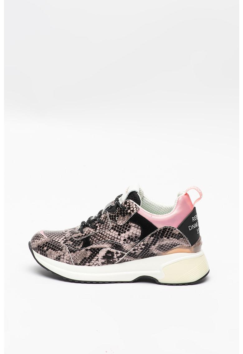 Pantofi sport cu insertii de piele intoarsa Weyburns