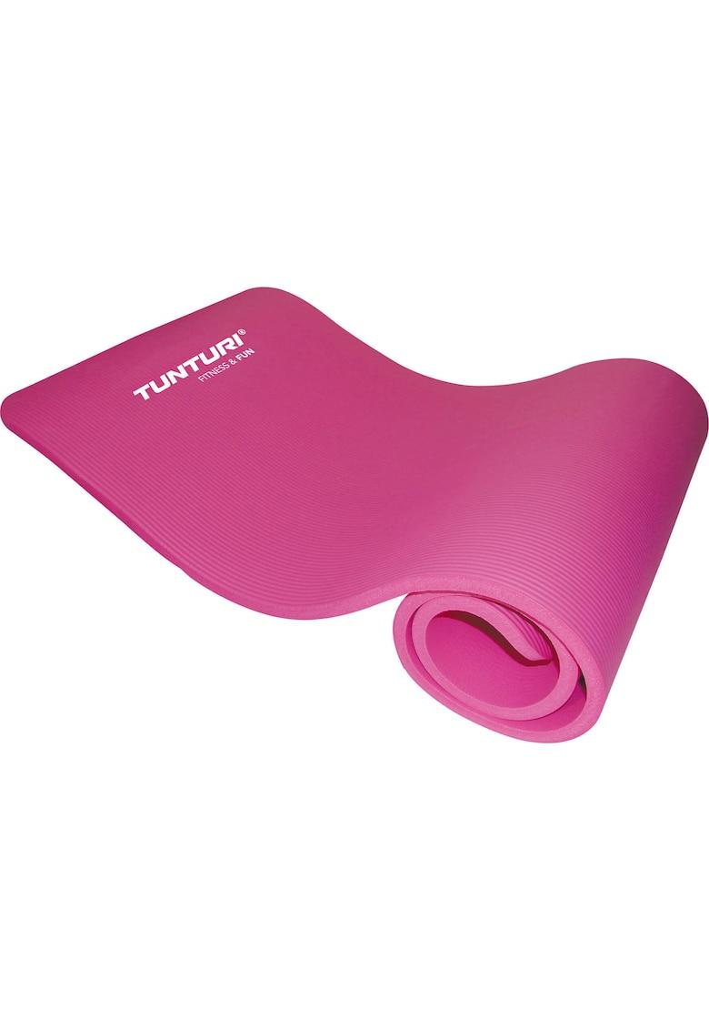 Saltea fitness/yoga/pilates NBR - 180 x 60 x 1.5 cm - roz
