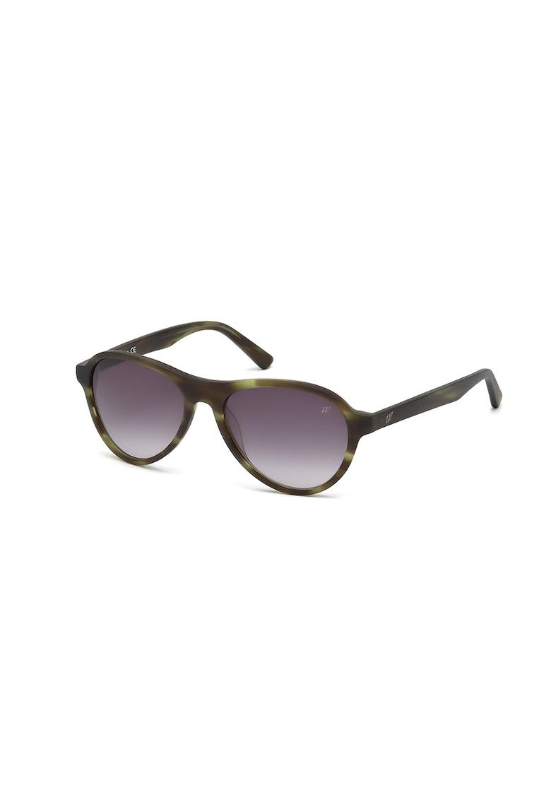 Ochelari de soare ovali unisex imagine fashiondays.ro