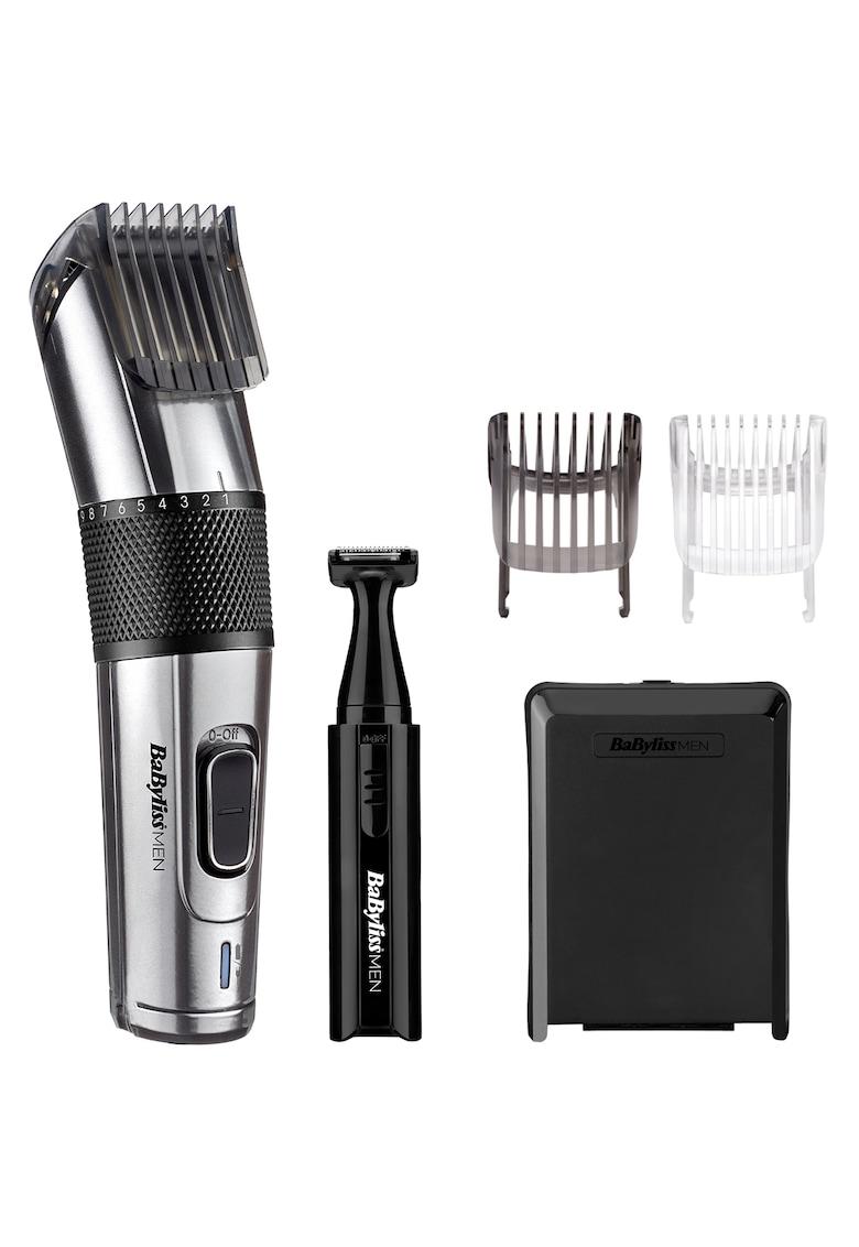 BaByliss Aparat de tuns parul si aranjat barba  Carbon Steel Hair Clipper - 2 accesorii