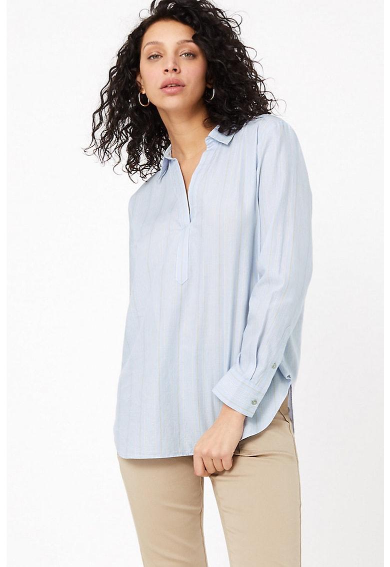 Bluza cu mansete cu nasturi imagine