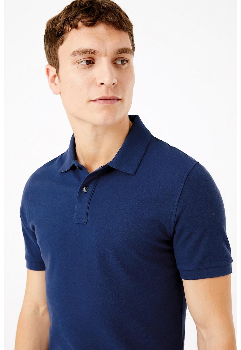 Tricou polo slim fit Marks & Spencer fashiondays.ro