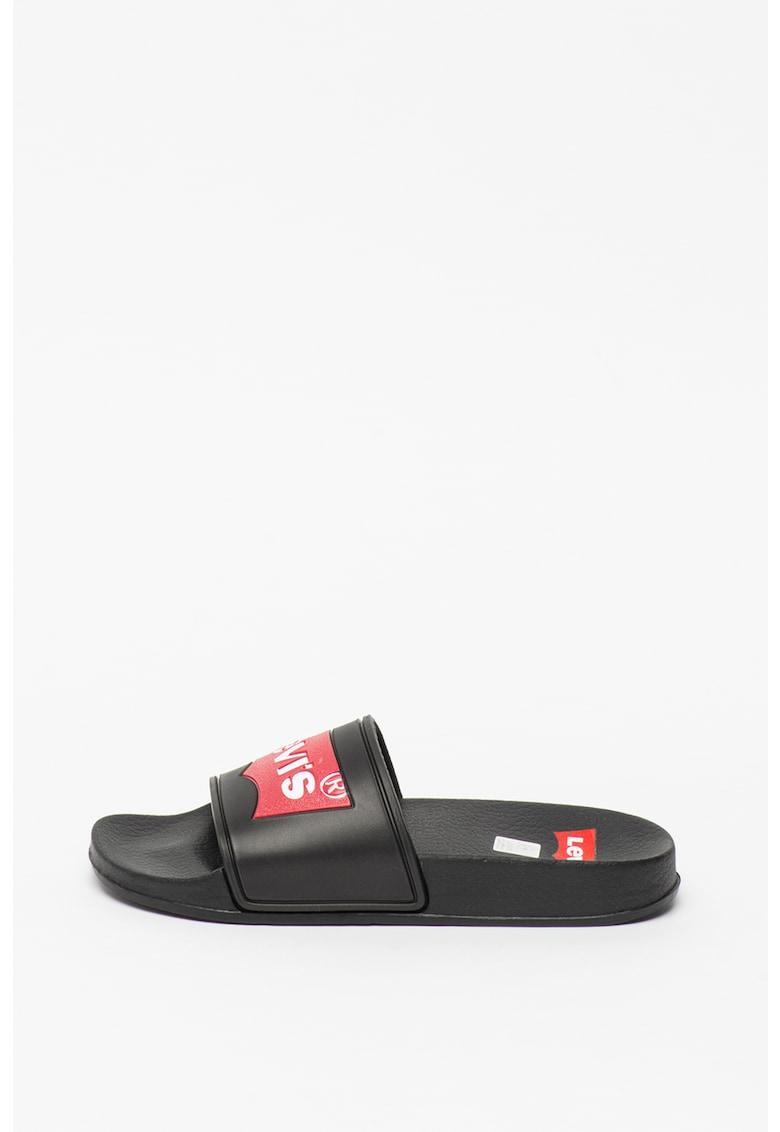 Papuci cu logo Pool imagine
