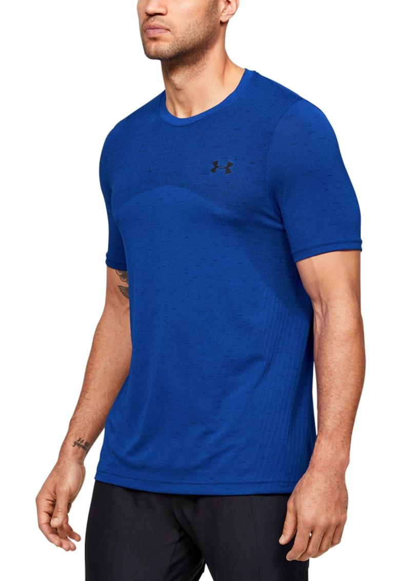 Tricou elastic cu logo - pentru fitness