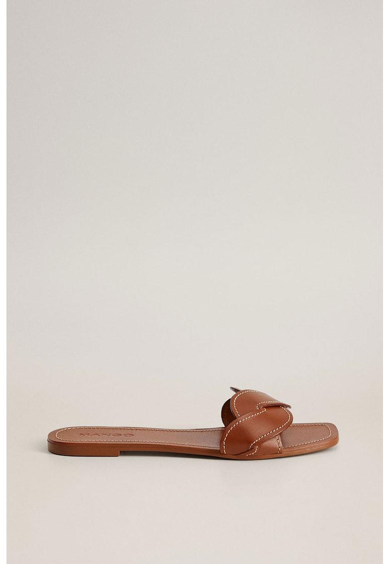 Papuci de piele Manila