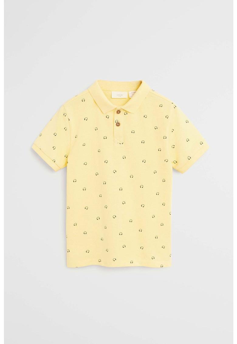 Tricou polo cu imprimeu Polop