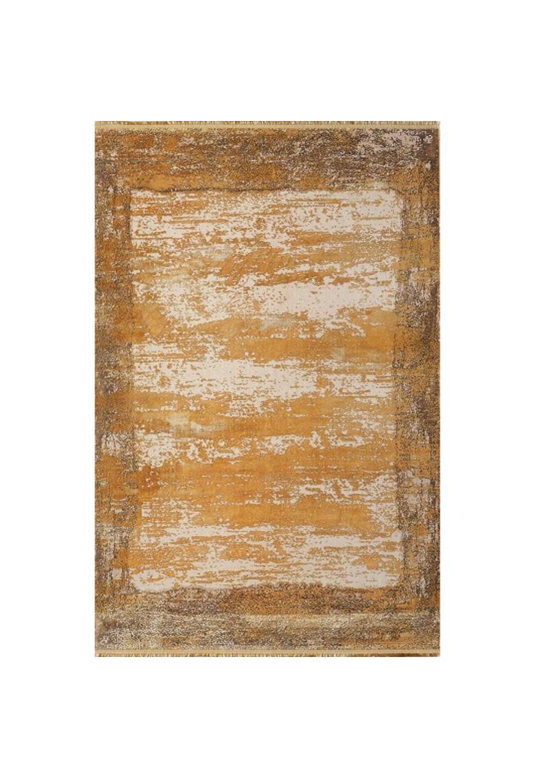 Covor Palette antistatic - acrilic - 200x290cm - portocaliu/maro - PA10D